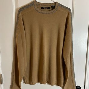 Bachrach Made in Italy Wool Blend Crew Sweater